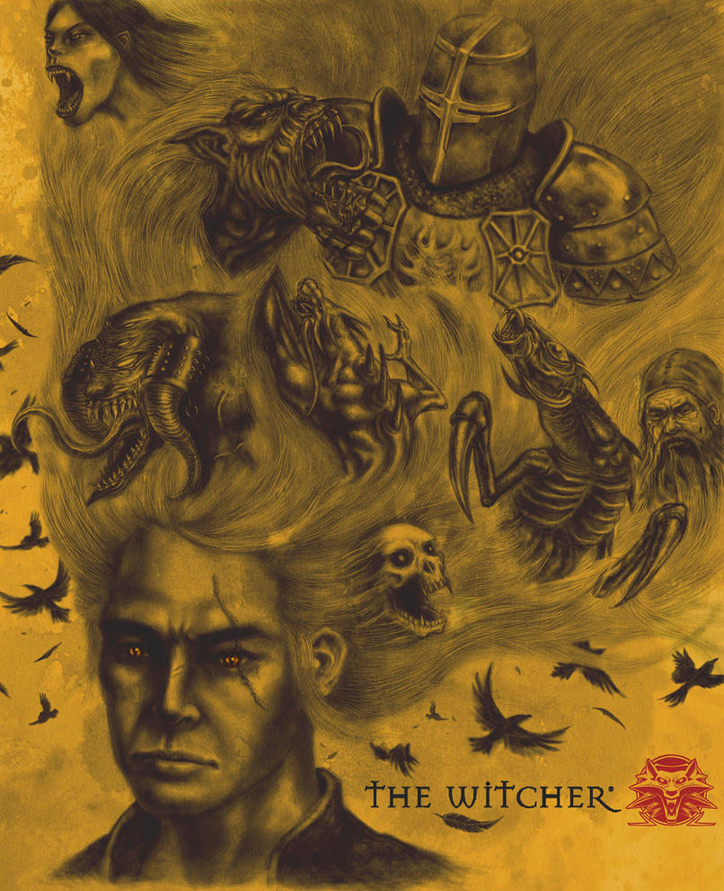 The Witcher Lingering Memories by volcanicmind