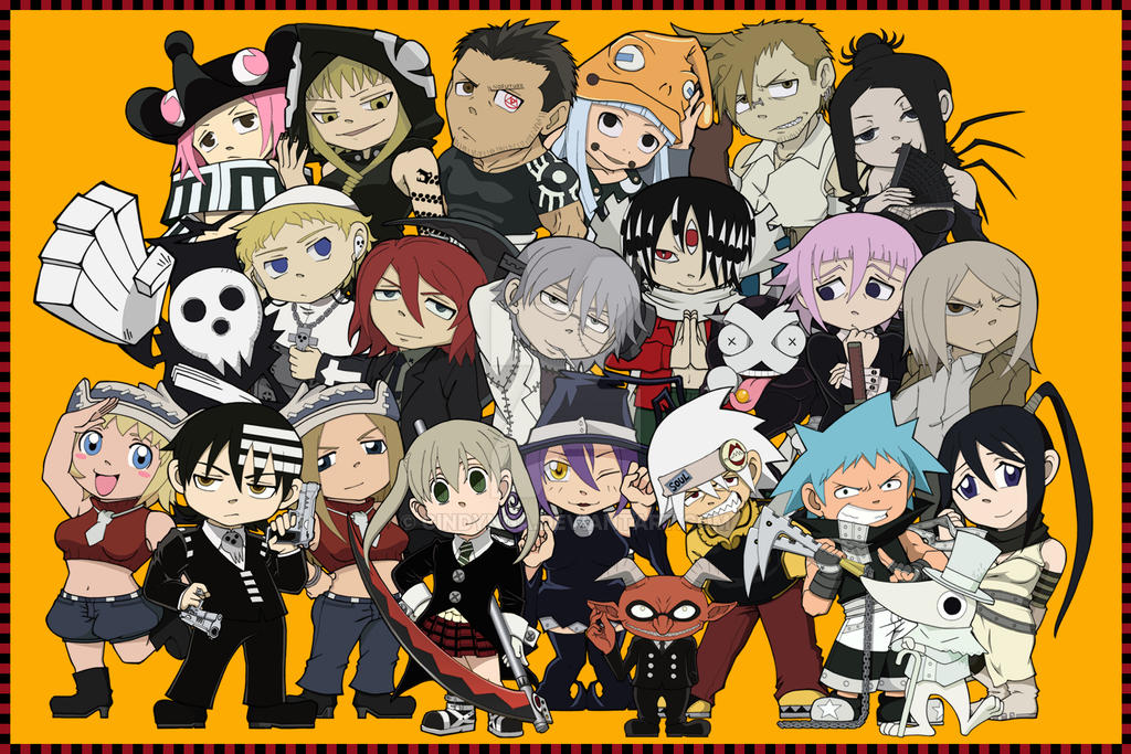 Soul Eater Chibis by cindynga