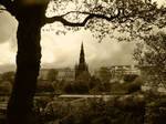 Edinburgh scene view by AshBob87