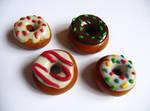 Diddy sculpey donuts by AshBob87