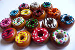 Sculpey donuts by AshBob87