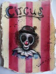 Circus Clown by AshBob87