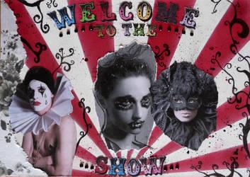 Circus mood board by AshBob87
