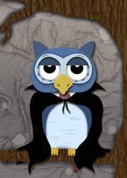 Halloween Owl by AshBob87