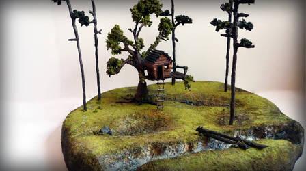 Treehouse model by AshBob87