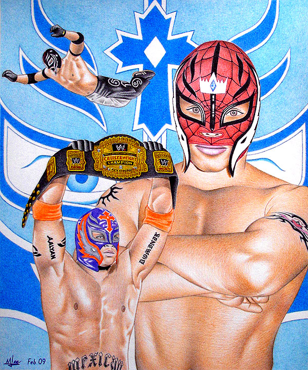 Rey Mysterio Jr by ~MLBOA on