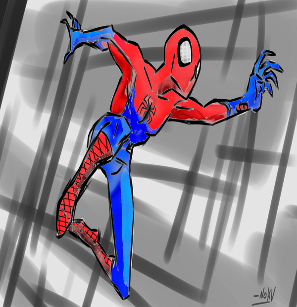 Spider-man by Dragneria