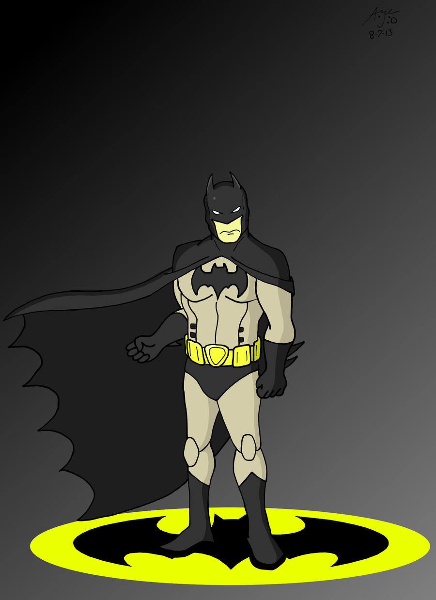 Batman by Retro-Eternity