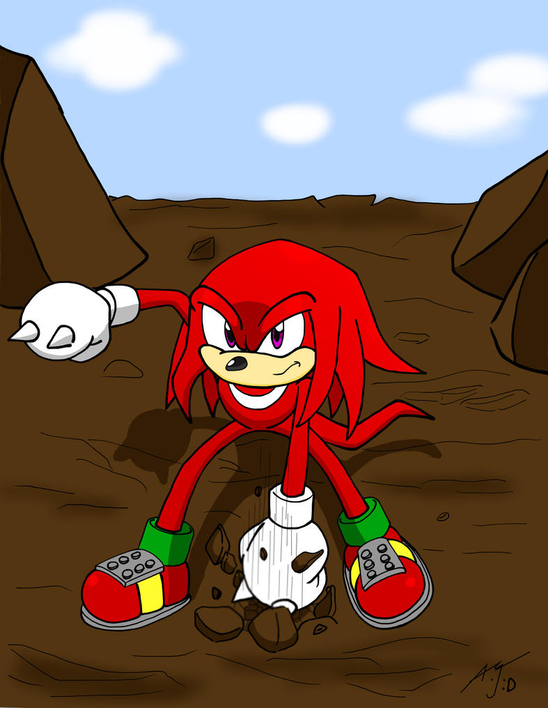Knuckles is awesome by Retro-Eternity