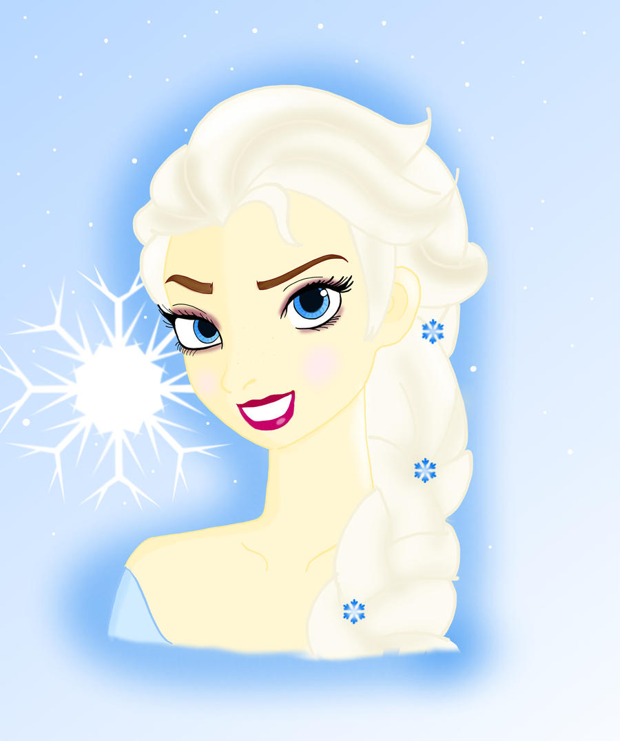 Elsa the snow queen by Retro-Eternity
