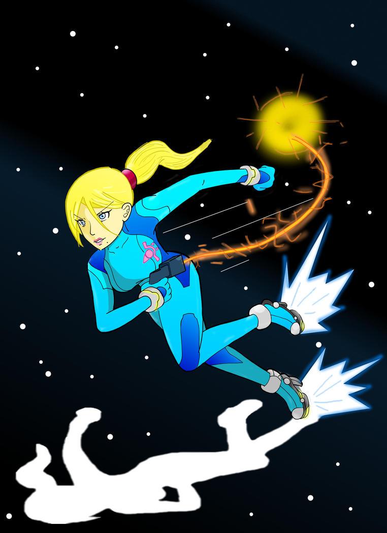 Zero Suit Samus by Retro-Eternity