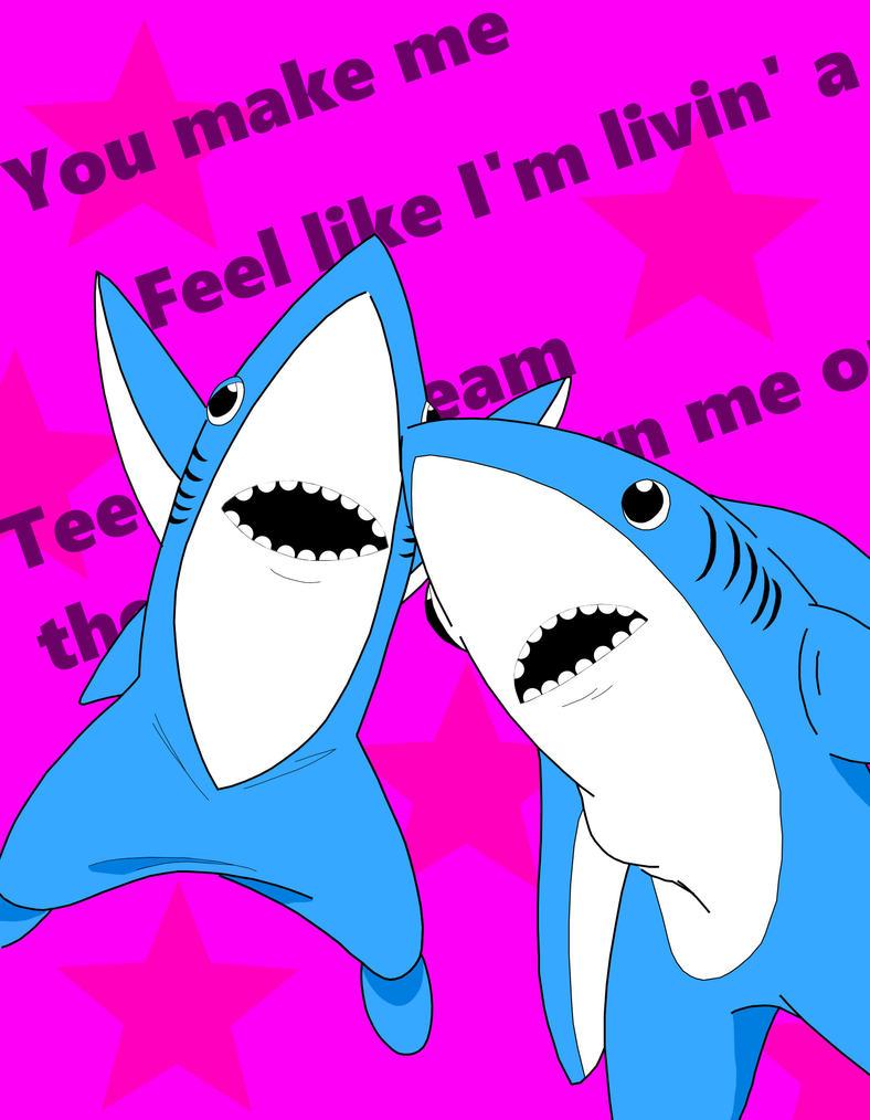 Left Shark, Right Shark by Retro-Eternity