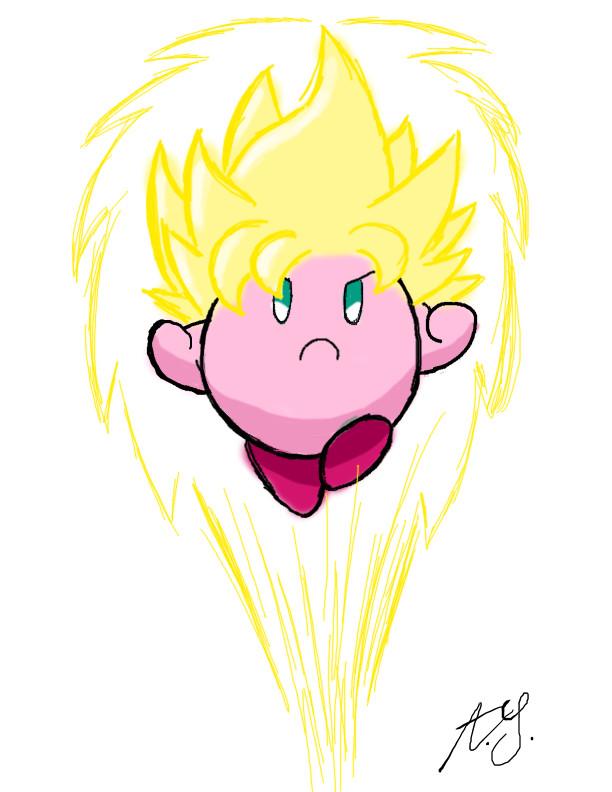 Super Kirby by Retro-Eternity