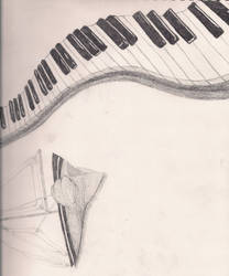 Piano and Boat