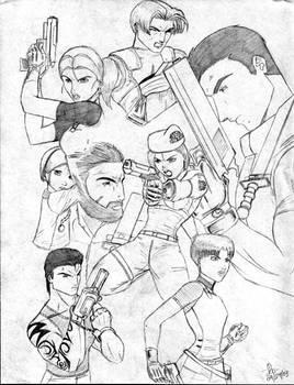 Resident Evil Collage
