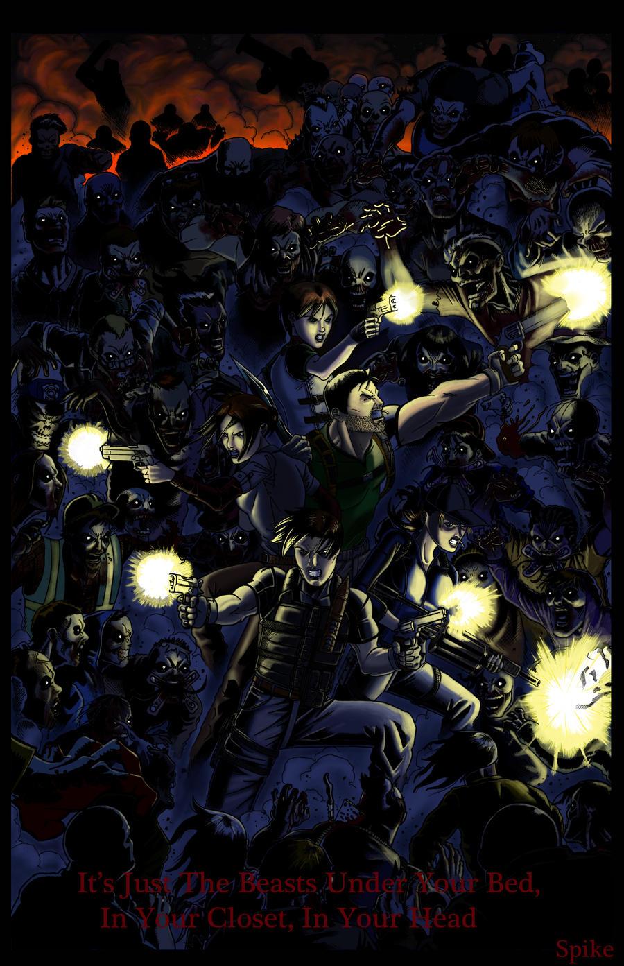 Resident Evil 2010 Tribute by Ari-Spike-Nadelman