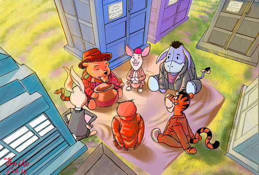 The Many Adventures Of Dr. Pooh
