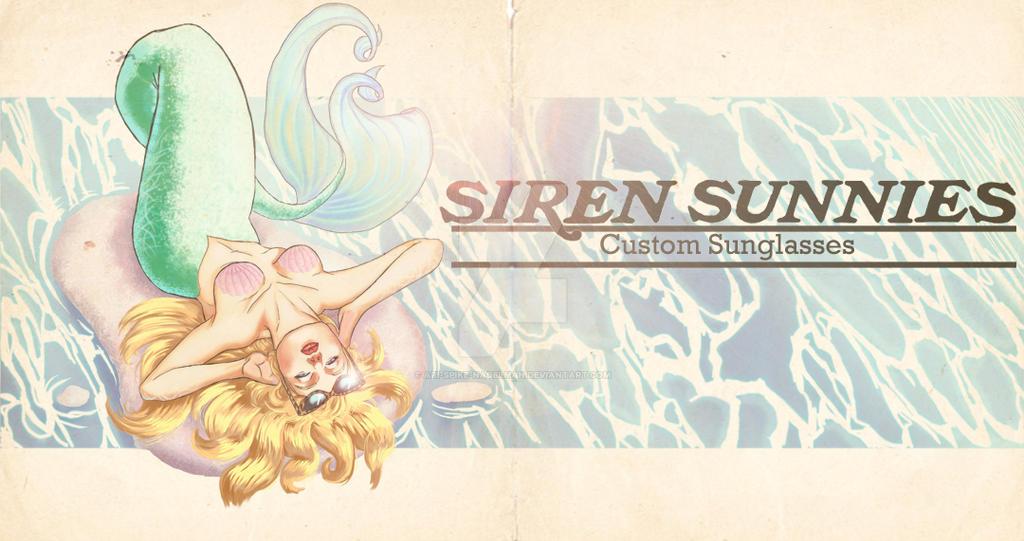 Siren Sunnies: Custom Sunglasses banner by Ari-Spike-Nadelman