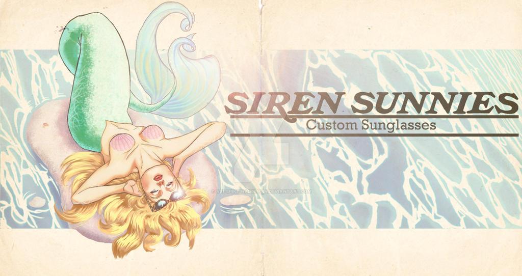 Siren Sunnies: Custom Sunglasses banner