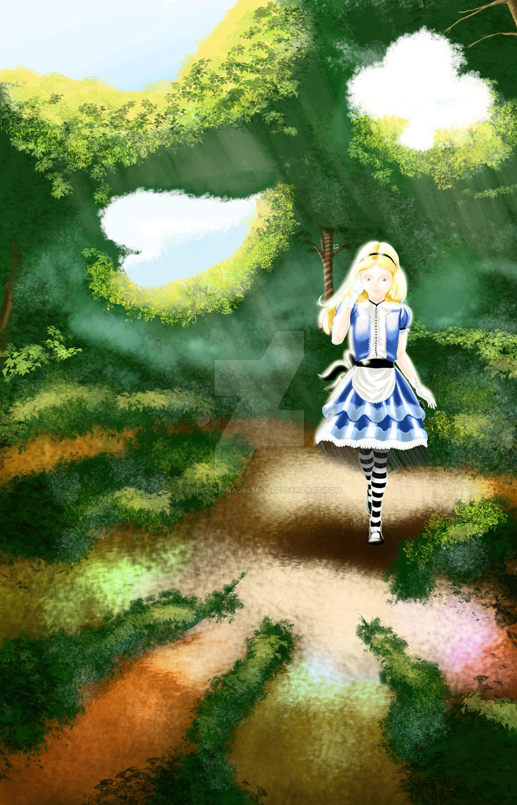 Alice In Wonderland by Ari-Spike-Nadelman