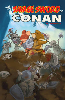 The Savage Sword Of Conan - Mouse Guard