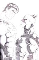 Batman And Superman by Ari-Spike-Nadelman