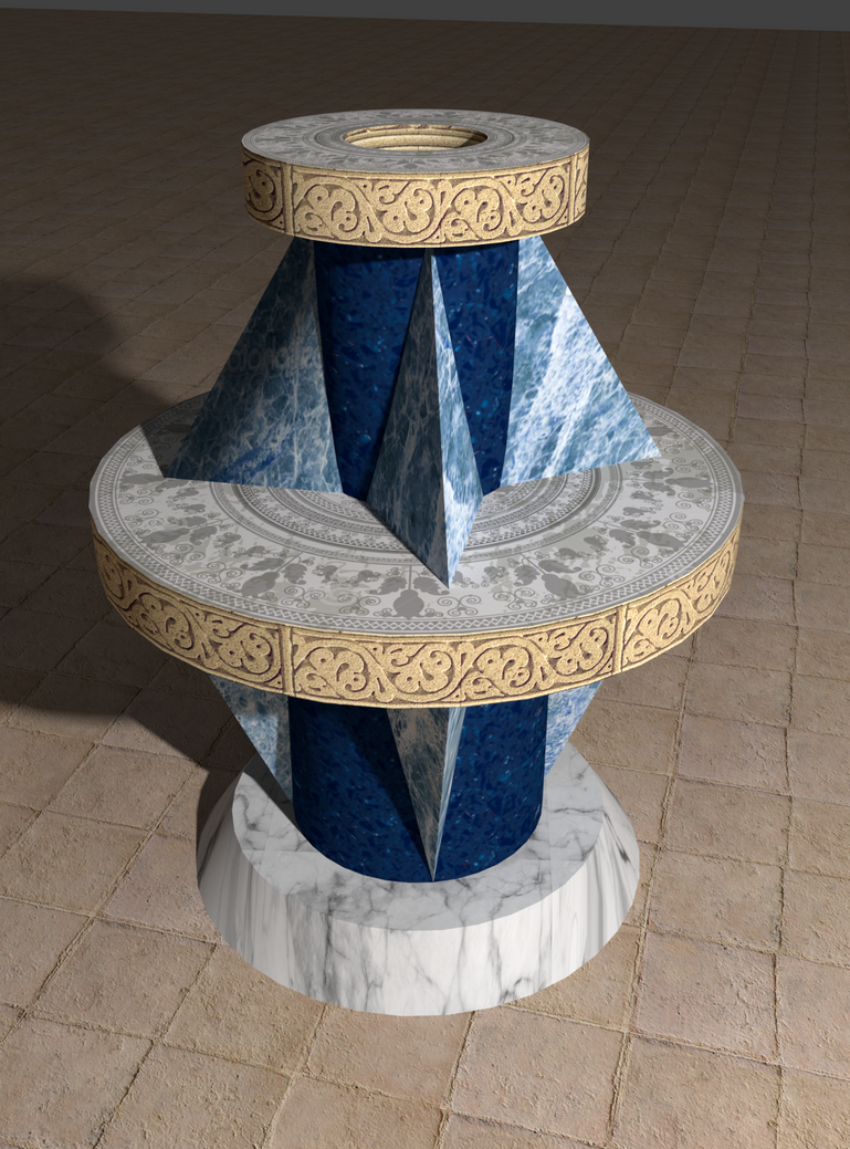 Vase Design1 by StrangeSamuArt