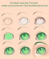 New Eye Tutorial by Eineko