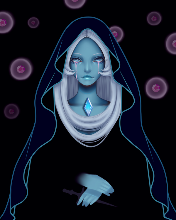 I feel really fascinated by Blue Diamond. Looking forward to seeing more of her and the other Diamonds.