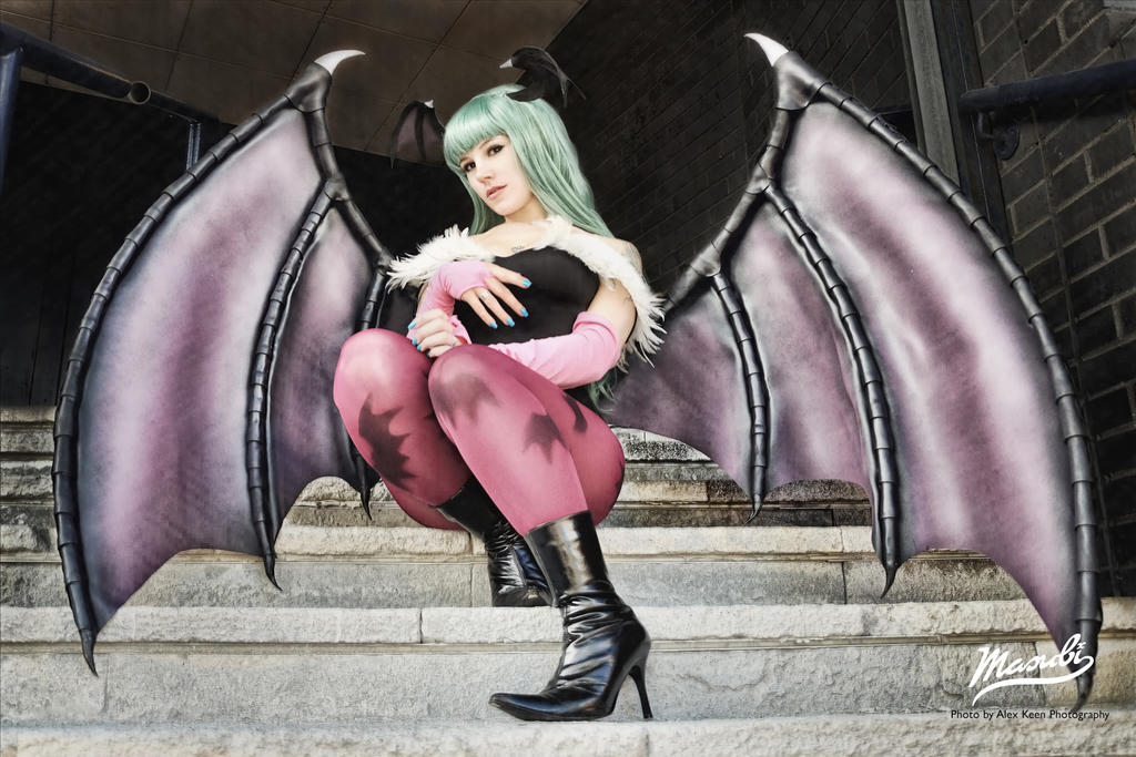 Morrigan 003 by Masubiii
