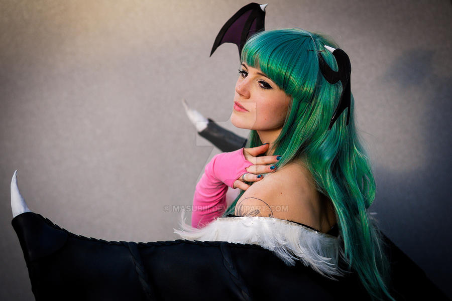 Morrigan 004 by Masubiii