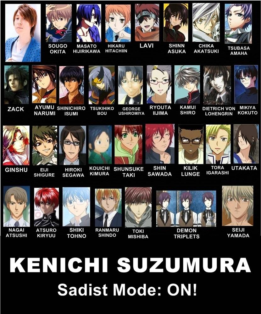 Elsword's Jap voices, voice actor/actress, animes