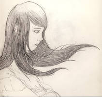Female Hair practice by RobMacIver
