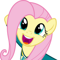 Fluttershy loves singing by dasprid