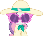 Sweetie Belle incognito