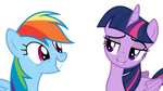 Twilight trolls Rainbow Dash