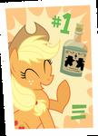 Poster: Applejack Approved