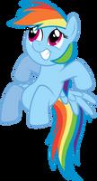 Rainbow Dash feels uncomfortable