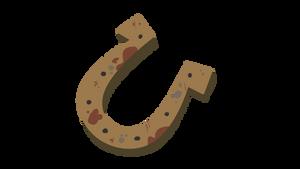 Rusty Horseshoe
