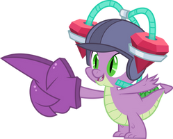 Spike with drinking helmet by dasprid