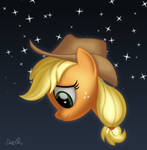Sad Applejack by dasprid