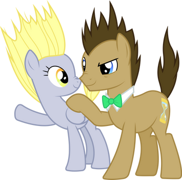 Derpy and Hooves electrified