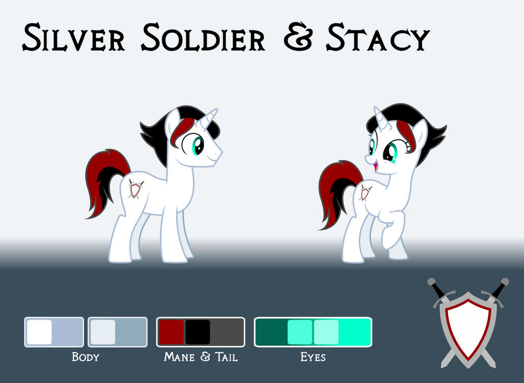 Commission: Silver Soldier / Stacy Reference Sheet