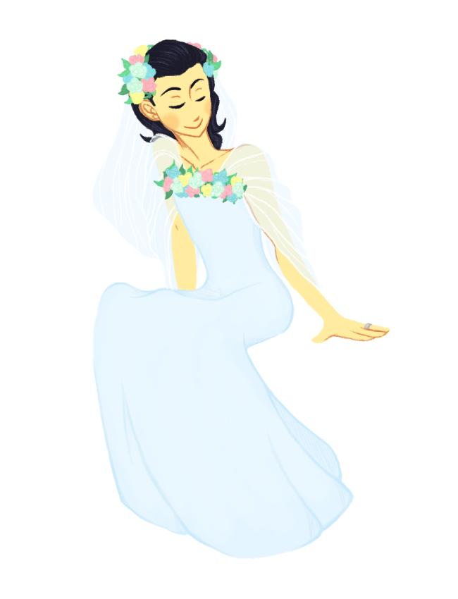Wedding Dress by SFWH