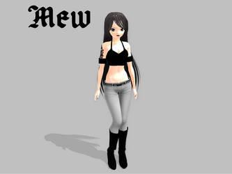 MMD Mew by TwilightAnimeLife