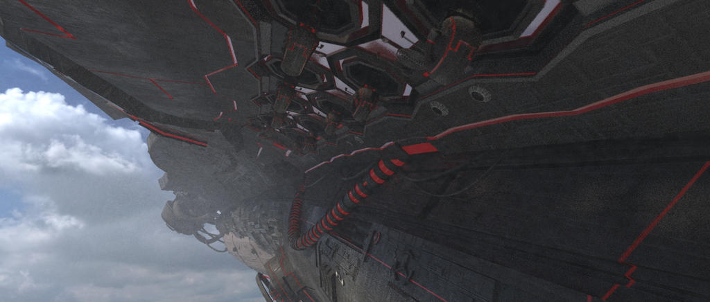 MotherShip - Render by liljack1