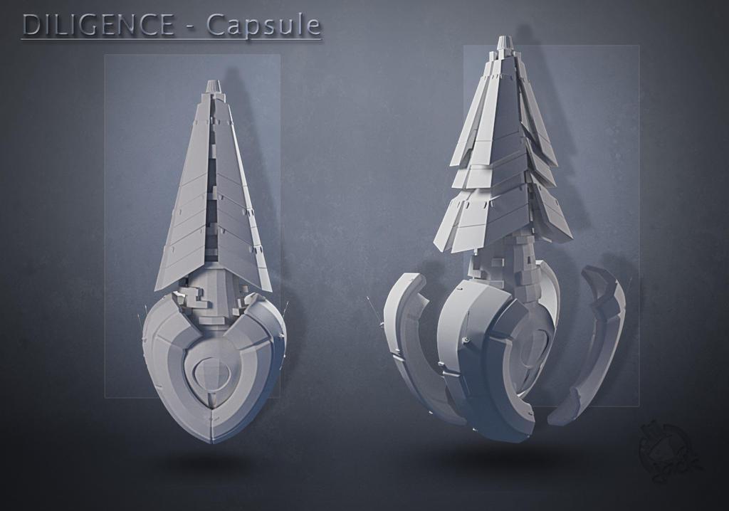 CAPSULE-2 Flat by liljack1
