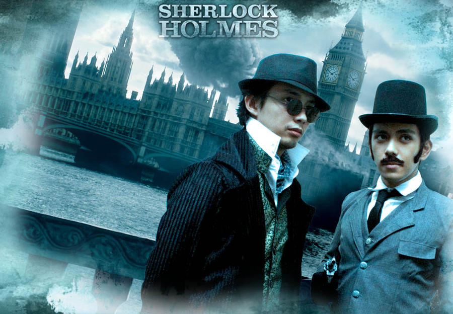 Holmes and Watson by kevmark77