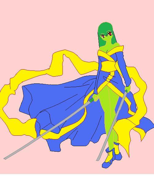 Lady Green by imyouknowwho