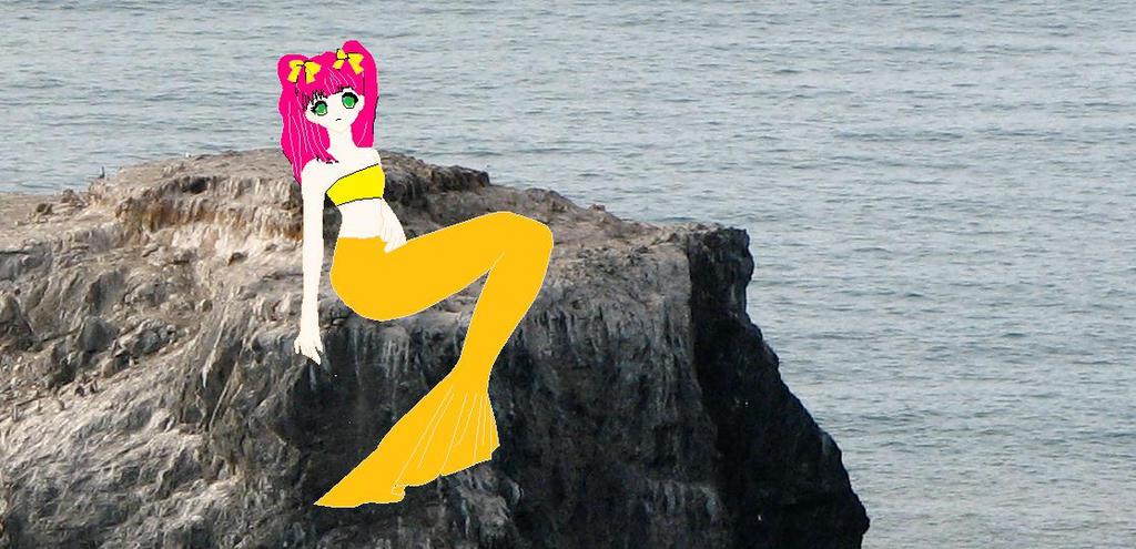 Mermaid Minami. by imyouknowwho